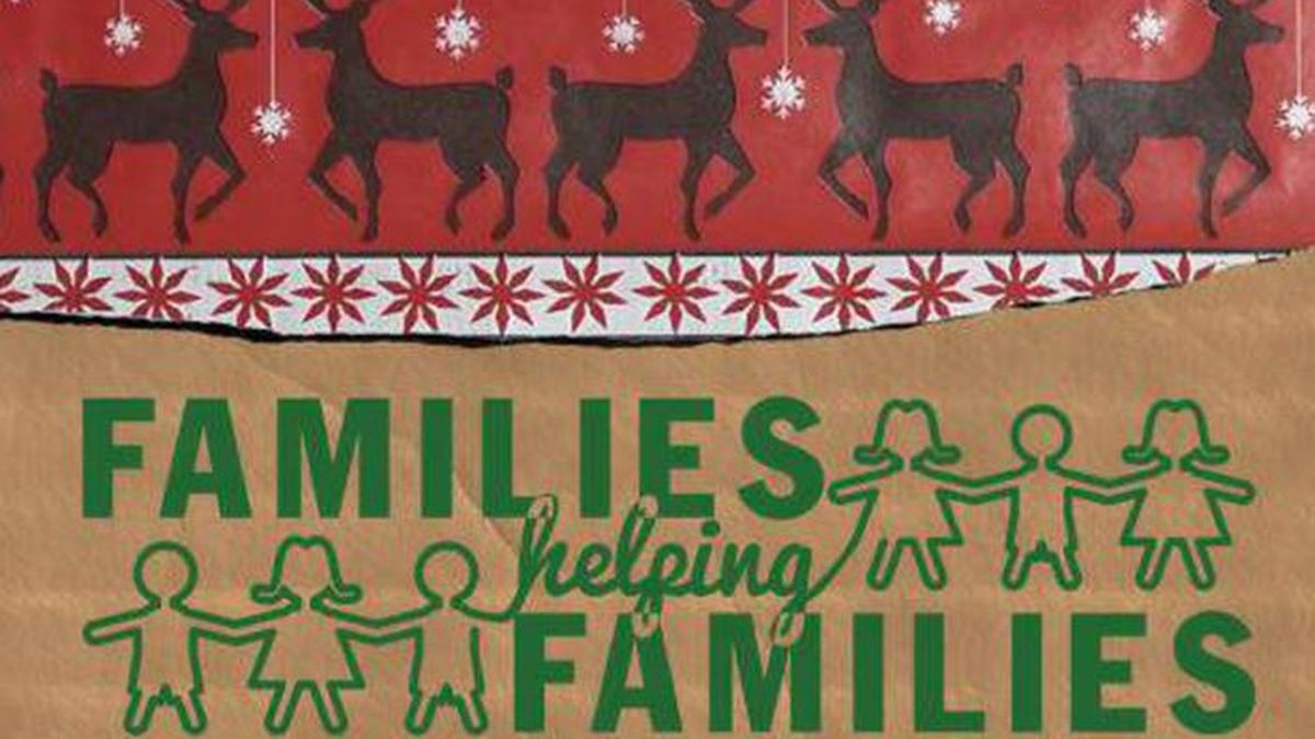There's still time to help: Adopt a family in need through Families Helping Families