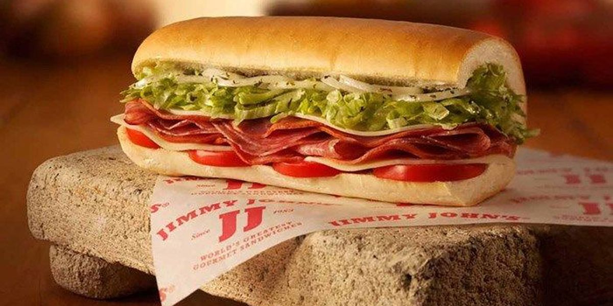 $1 subs today at Jimmy John's