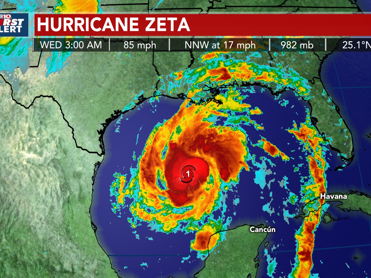 TROPICS: Zeta expected to strengthen, will likely impact the Midlands Thursday with possible severe storms