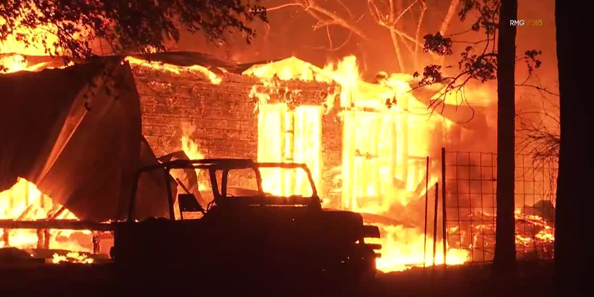 Wildfires burn thousands of acres in California