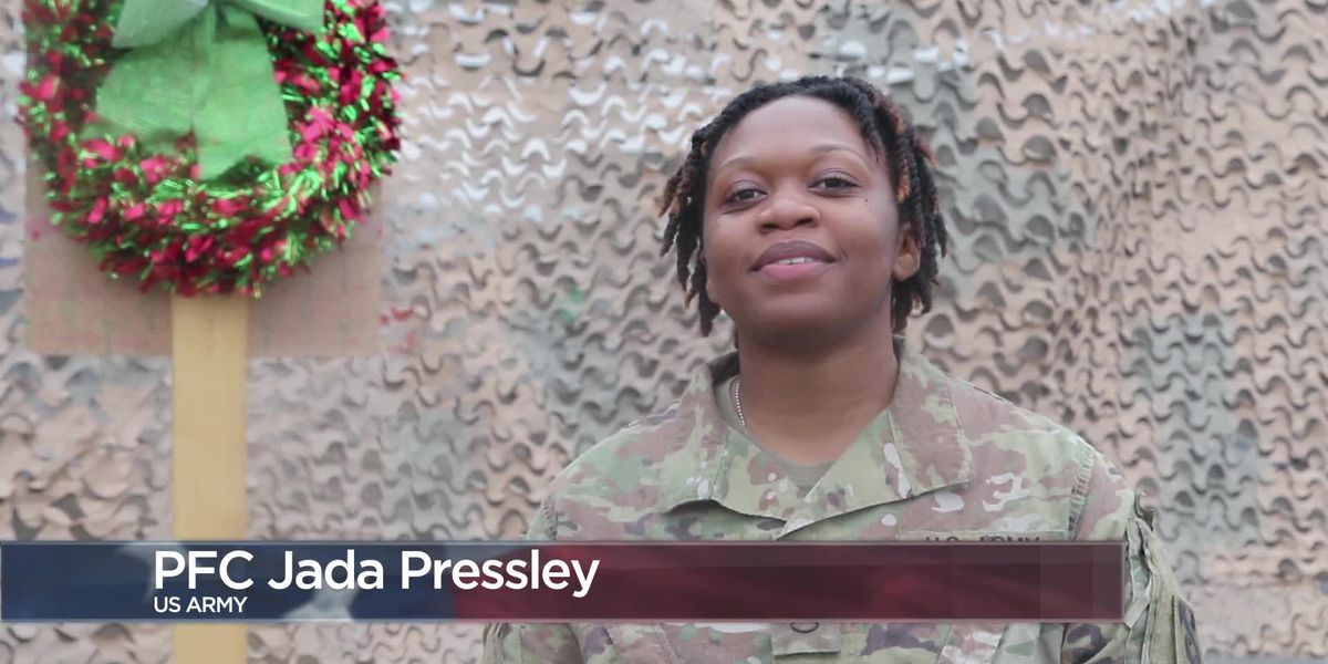 Military Greetings - Pfc. Jada Pressley