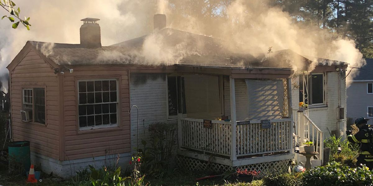 Four displaced following house fire in Columbia