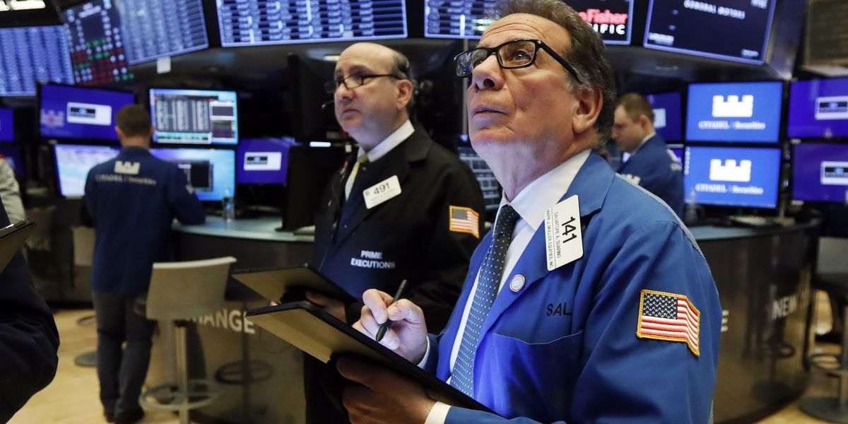 Stocks sink, bonds soar on fears virus will stunt economy