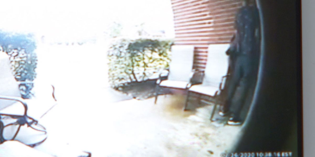 Man caught on Ring doorbell camera peeing on Columbia man's front porch