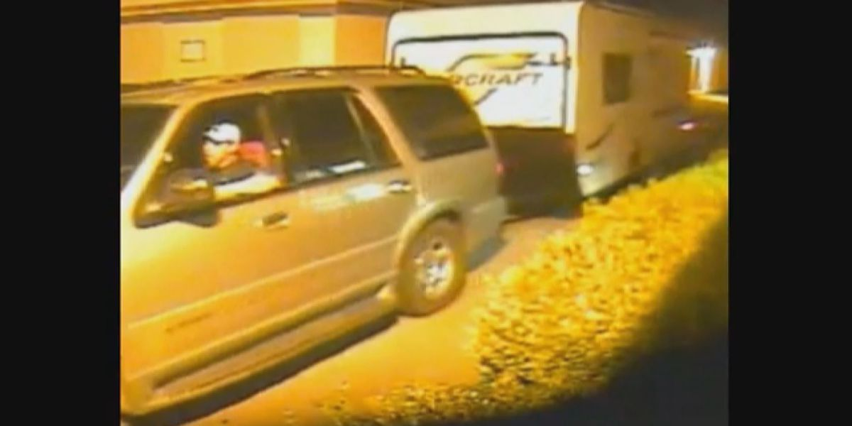 Deputies need help identifying man who stole camper from storage facility