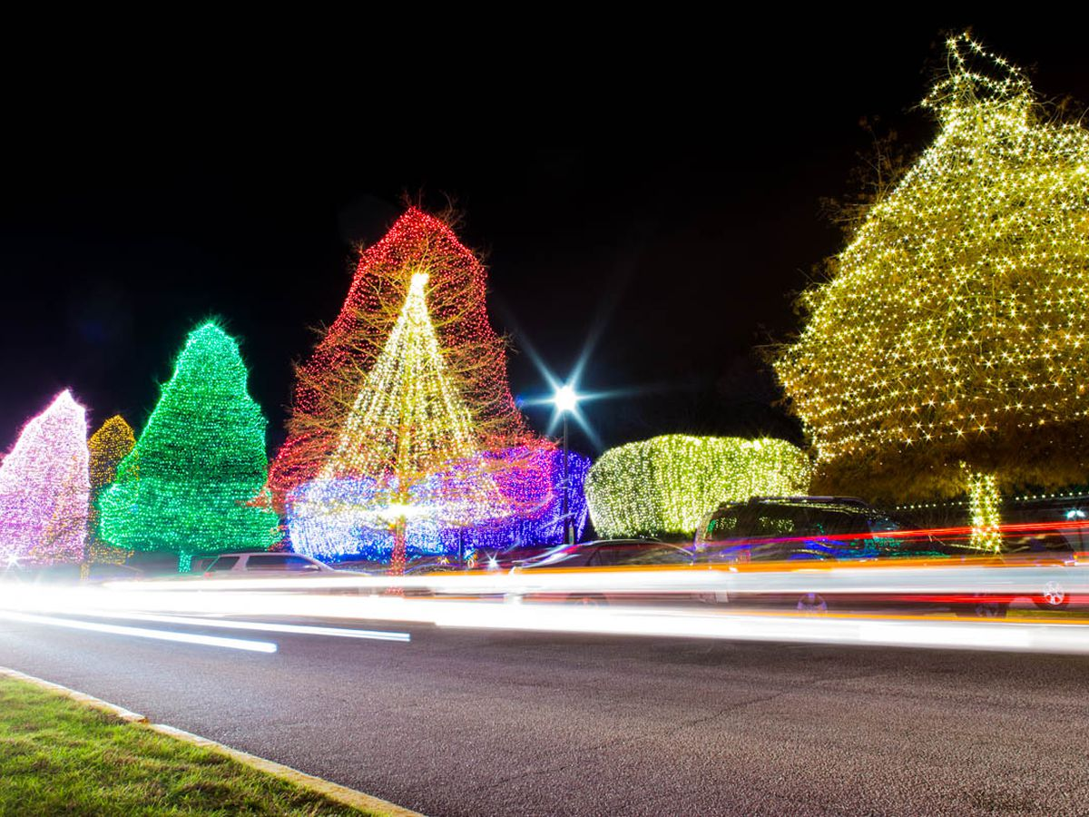 City of Sumter presents 'Fantasy of Lights' Christmas display