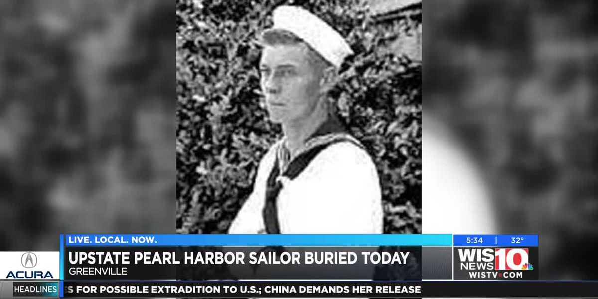Upstate Pearl Harbor sailor to be buried today