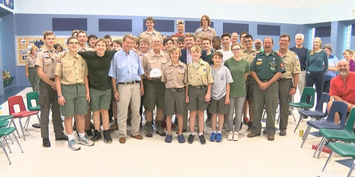 Community Builder: Midlands man helps 200+ youth become Eagle Scouts