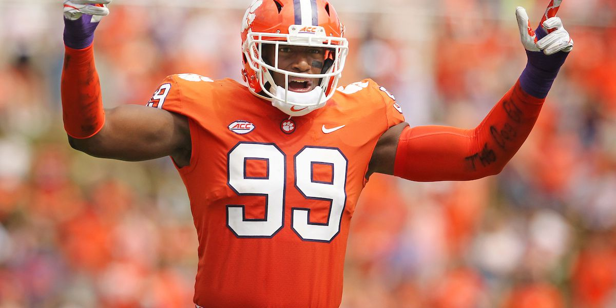 NFL draft: Former Clemson DE selected with No. 4 overall pick