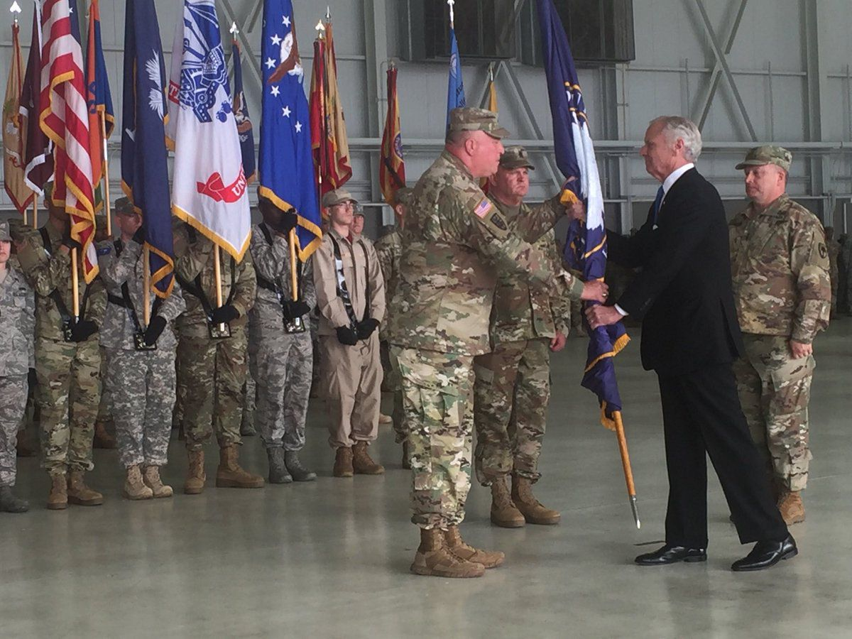 Gov. McMaster officiates change of command ceremony at McEntire Joint National Guard Base