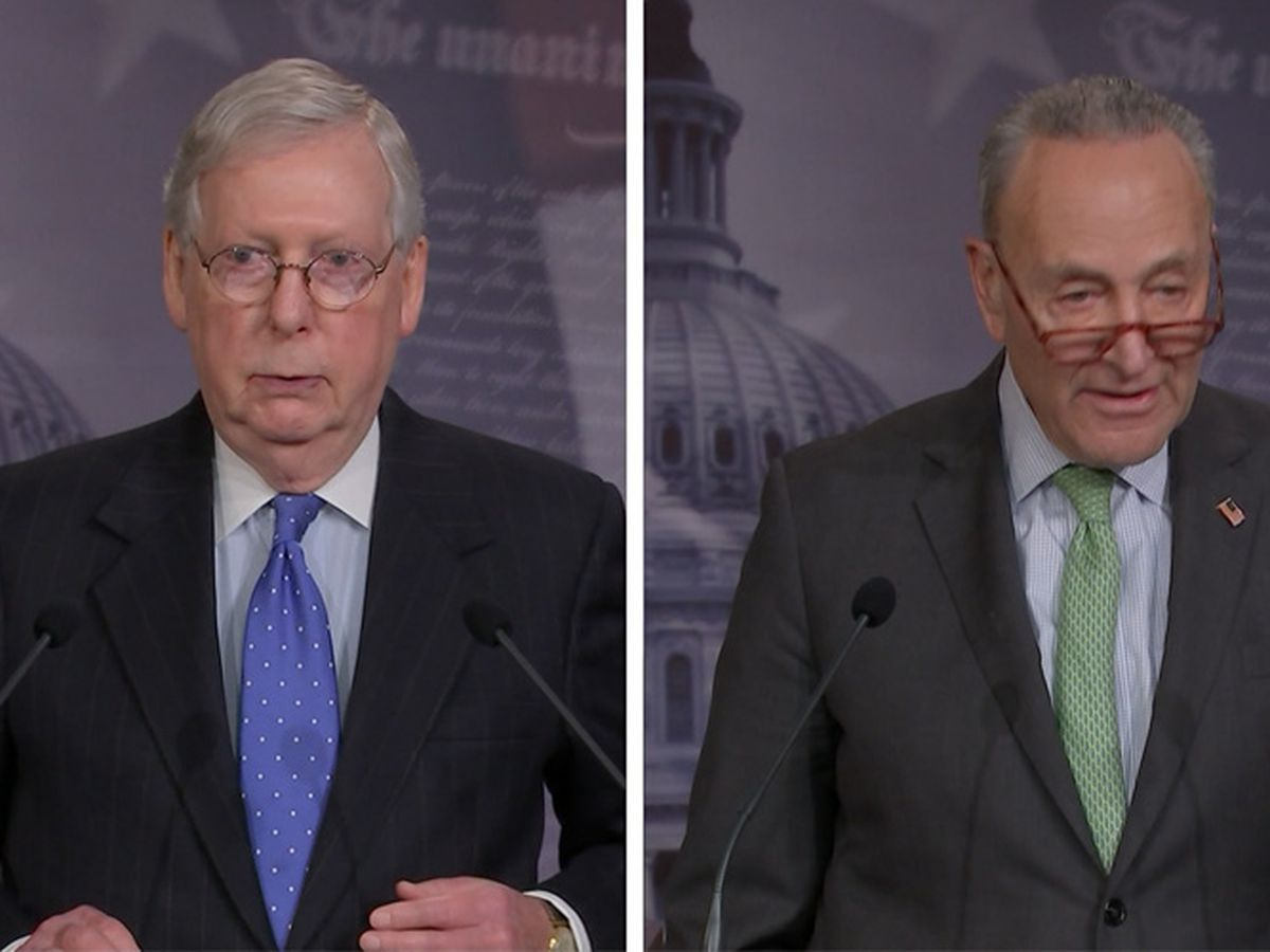 McConnell backs off Senate filibuster fight with Schumer