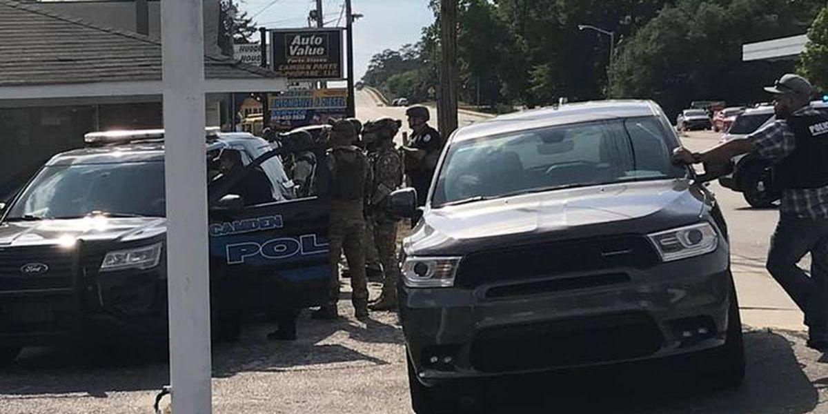 Standoff at Camden motel ends peacefully, deputies say