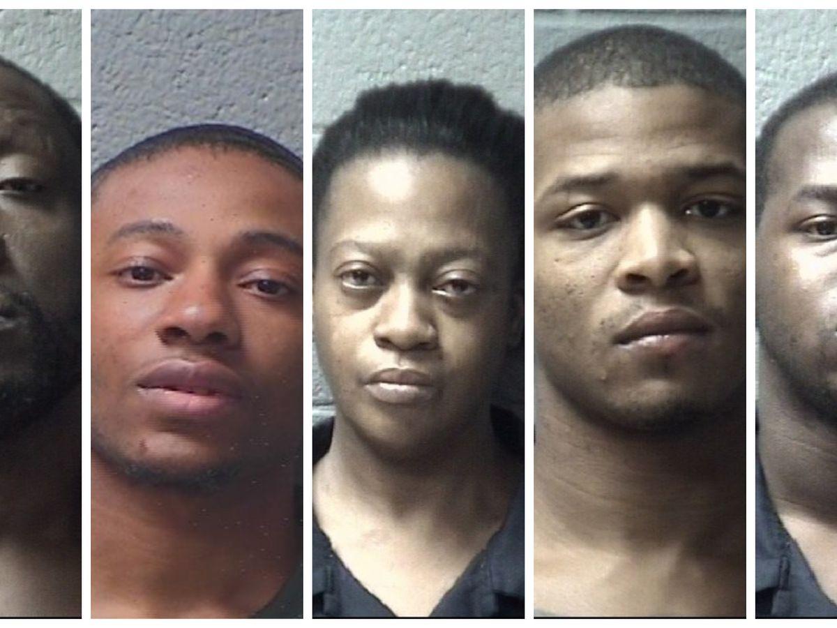 Deputies in Orangeburg arrest 5 on drug, weapons charges