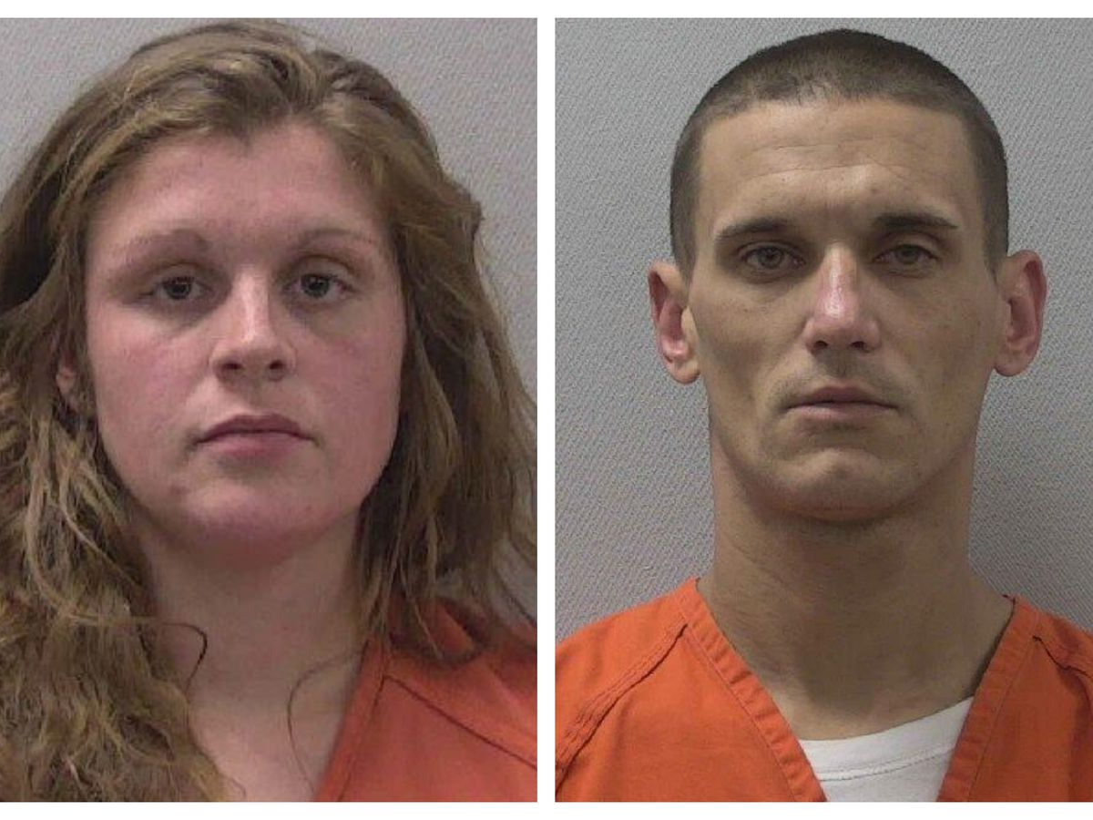Man, woman charged after deputy spots truck reported stolen