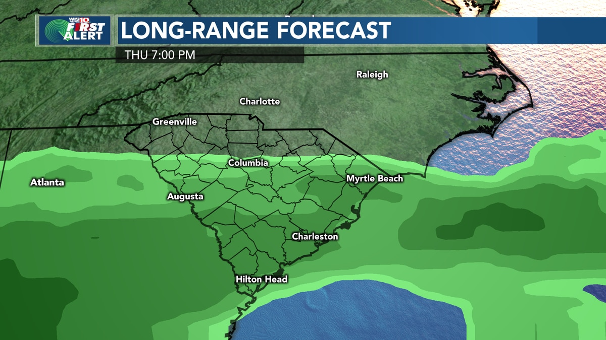 FIRST ALERT - Sunny and dry conditions will continue, but rain will arrive to end the week