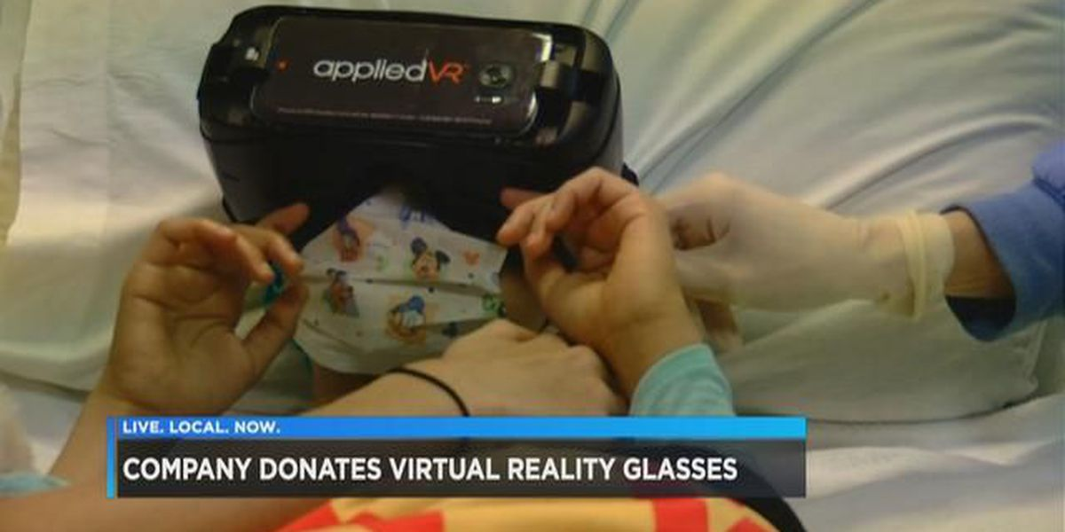 Chicago business owner donates 100 virtual reality glasses to Palmetto Health Children's Hospital
