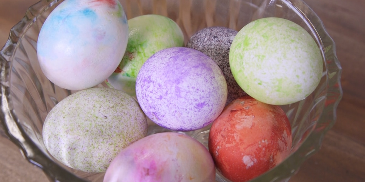 PALMETTO WEEKEND: Three new ways to dye Easter eggs!