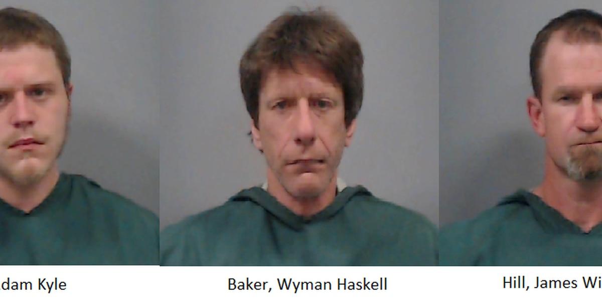 3 Midlands men busted in drug deal involving stolen pistol
