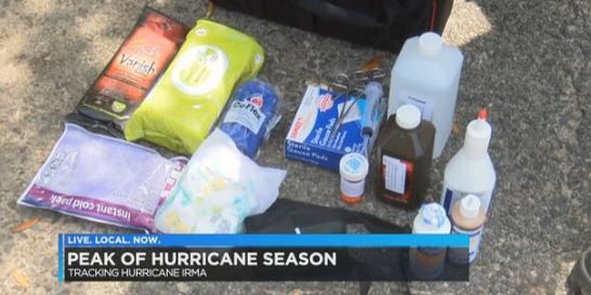 It's never too early to prepare for a possible impact from Hurricane Irma