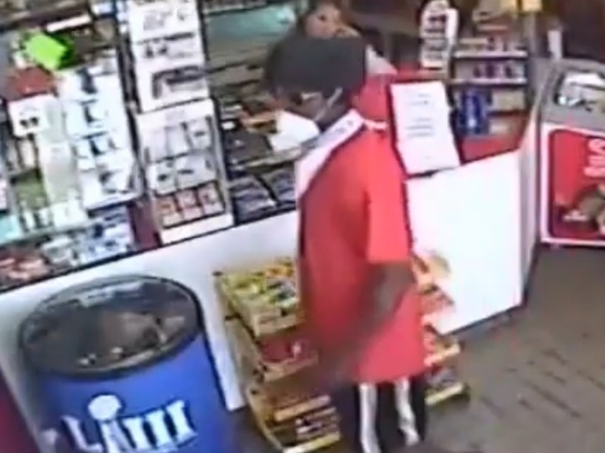 RCSD releases surveillance footage of armed robbery of Pitt Stop on Two Notch Road
