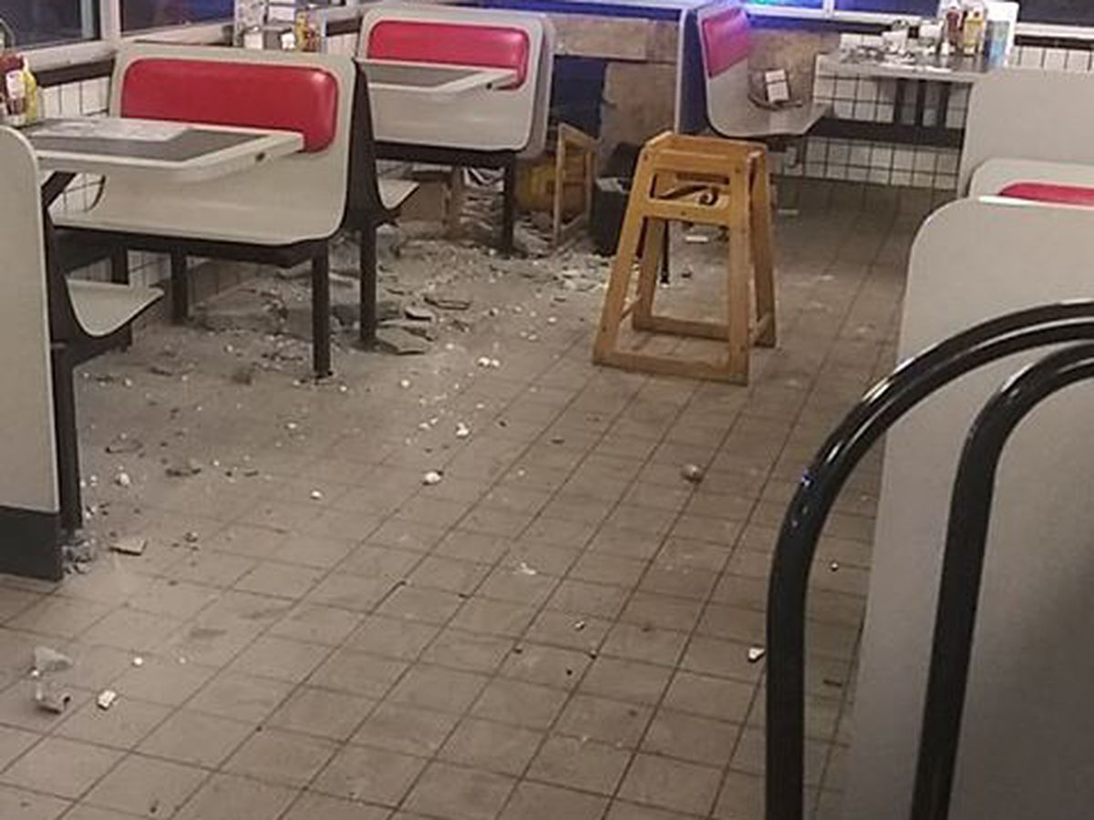 Man ID'd after crashing car into SC Waffle House, told police he just wanted to eat