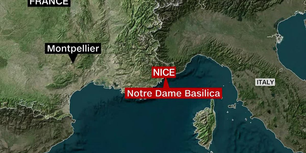 Police in the French city of Nice are responding to a 'terror attack' in the Notre Dame basilica