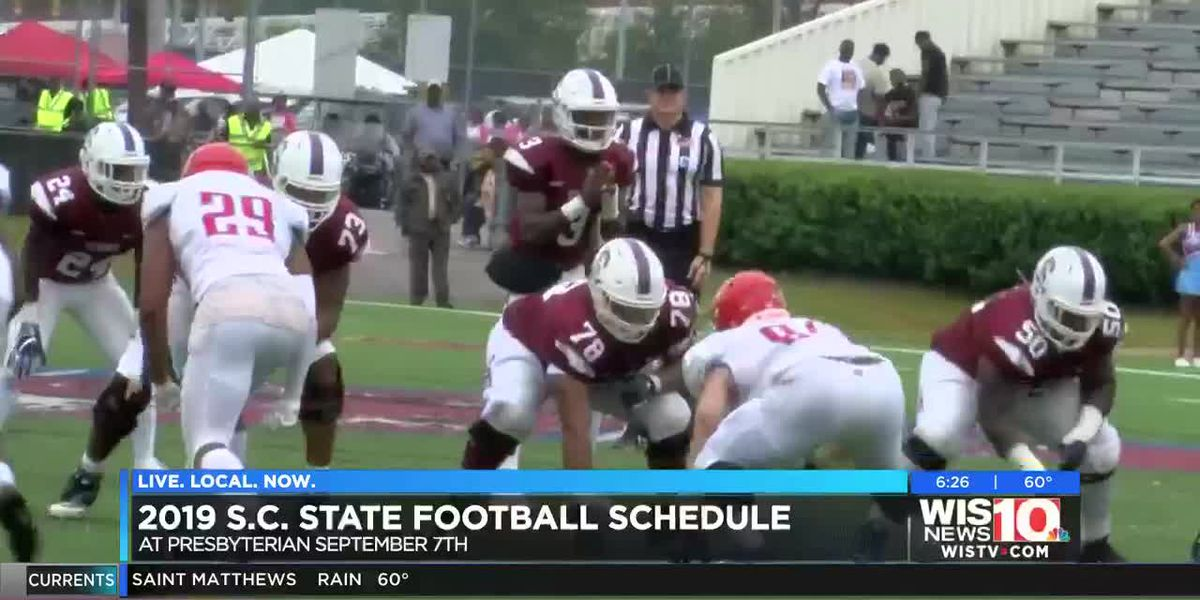 SC State releases 2019 football schedule