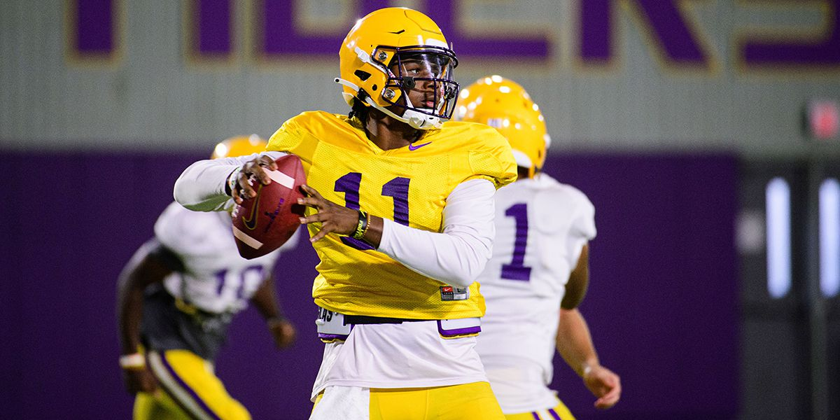'TJ nudged Max just a little' - Orgeron confirms Ponchatoula's Finley will start at QB against South Carolina