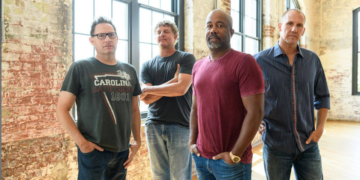 Hootie and the Blowfish launch giving campaign during Columbia concert series