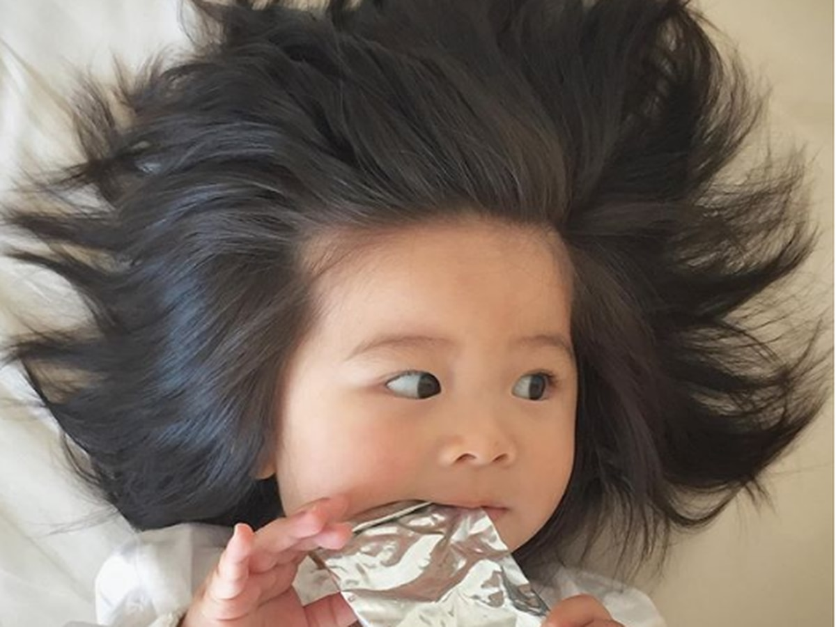 1-year-old new face of Pantene gives everyone hair envy