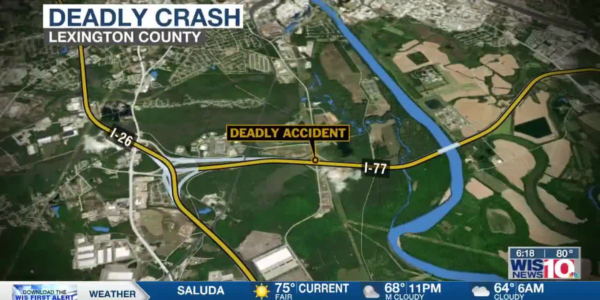 SCHP: Driver killed in single-vehicle collision on I-77 in Lexington County