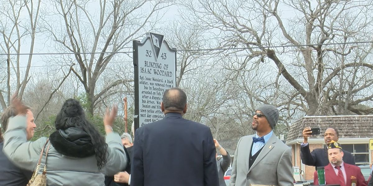 Historical marker unveiled in Batesburg-Leesville details moment that launched racial change