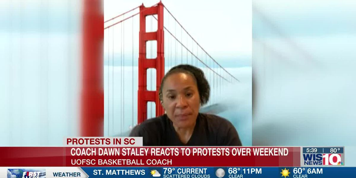 Coach Staley shares thoughts on protests, riots and the way forward after George Floyd's death