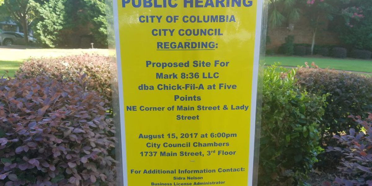 Columbia City Council votes down proposal for Chick-fil-A food cart