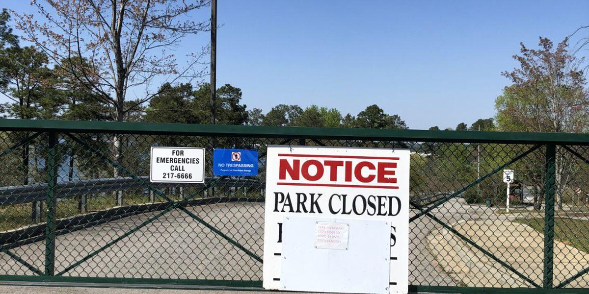 Lake Murray beach goers upset over closed park