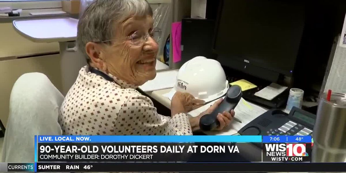 COMMUNITY BUILDER: 90-year-old Dorn VA volunteer makes thousands of calls to Midlands veterans