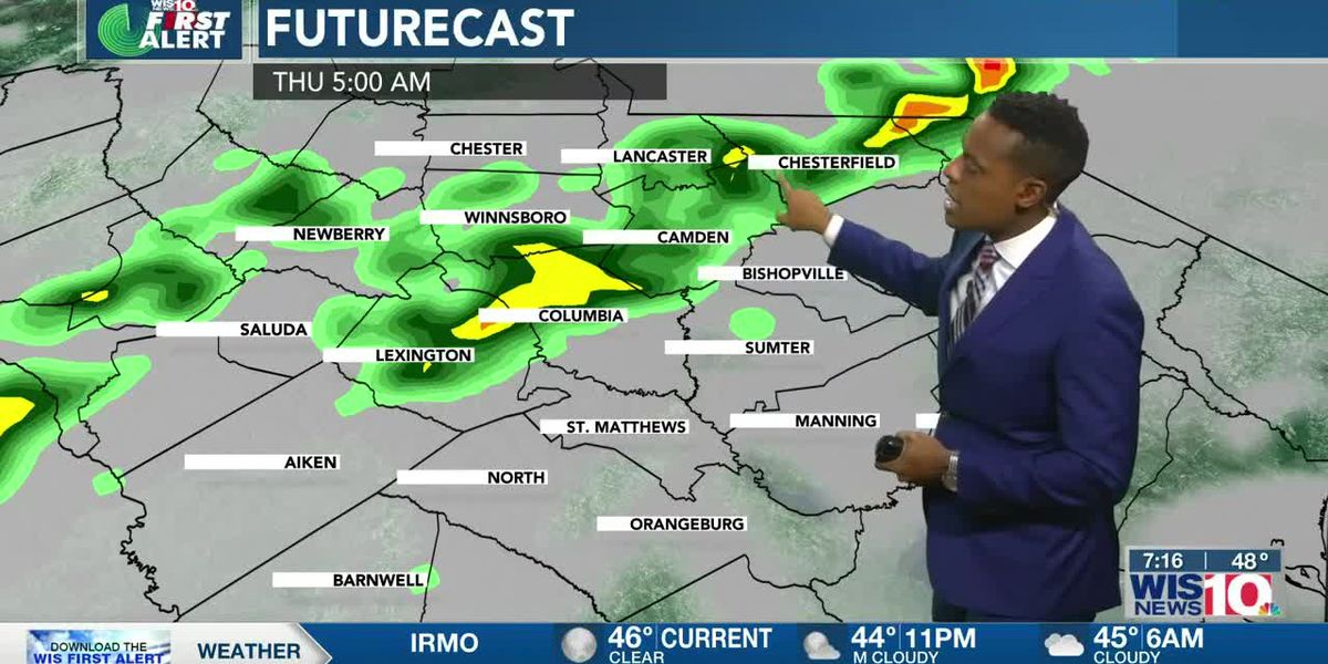 Dominic Brown's November 24th Forecast