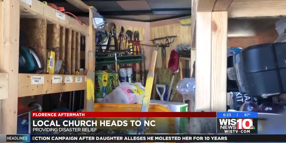 Columbia church members head to North Carolina to assist with hurricane relief efforts