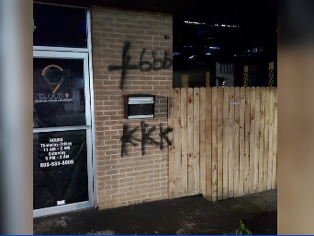 Orangeburg business vandalized with racist graffiti, authorities call it a hate crime
