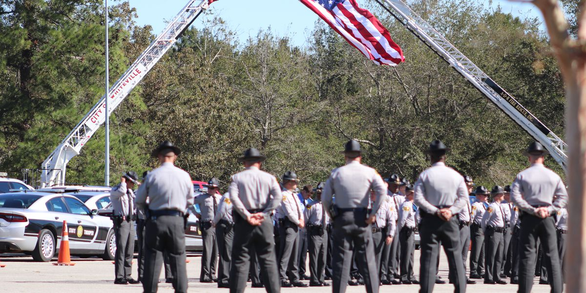 Hundreds turn out for NC trooper funeral