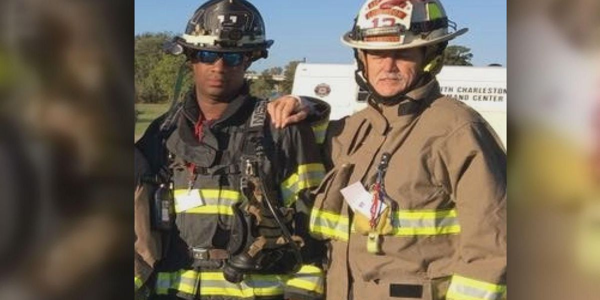 Miracle on the Ravenel: Hero saves fellow firefighter during walk to remember 9/11