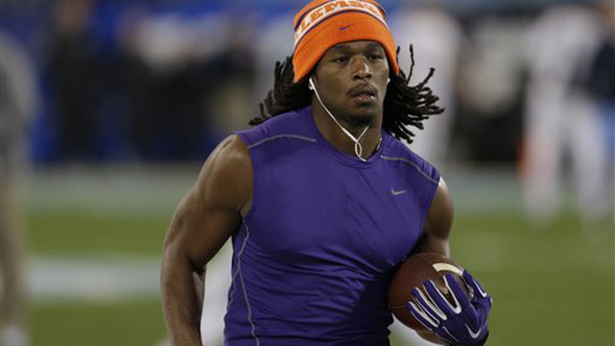 Coroner: Ex-Clemson RB drowned while swimming at Ga. state park