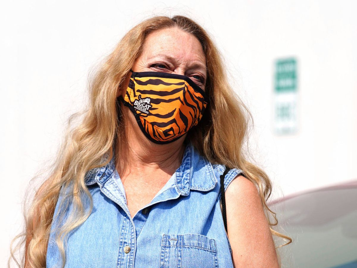 "One person bitten by tiger at Carole Baskin's ""Big Cat Rescue"""