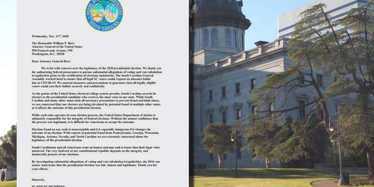 S.C. Republican lawmakers show support for election fraud investigation