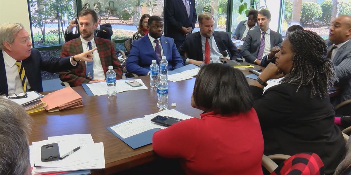 Tense moments erupt among Richland Co. lawmakers at annual meeting, amid accusations of a 'hostile environment'