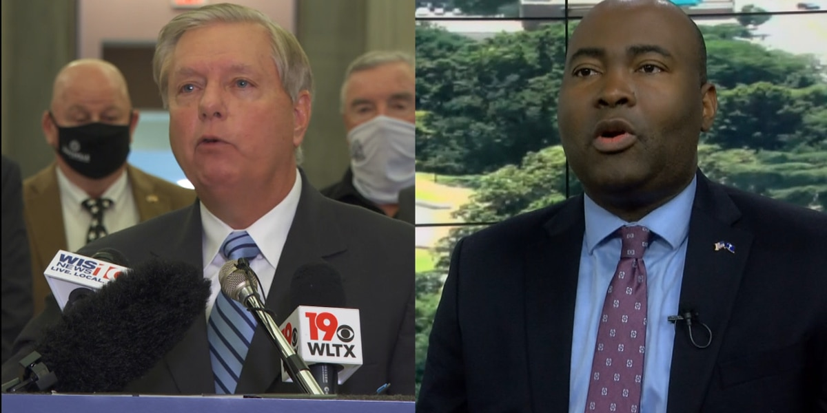 Harrison, Graham continue to ask for donations in final week of tight U.S. Senate race