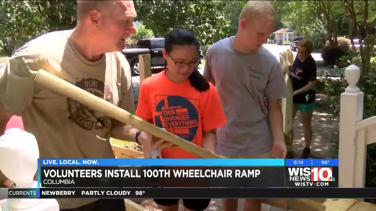Columbia church hits milestone of helping those with mobility challenges