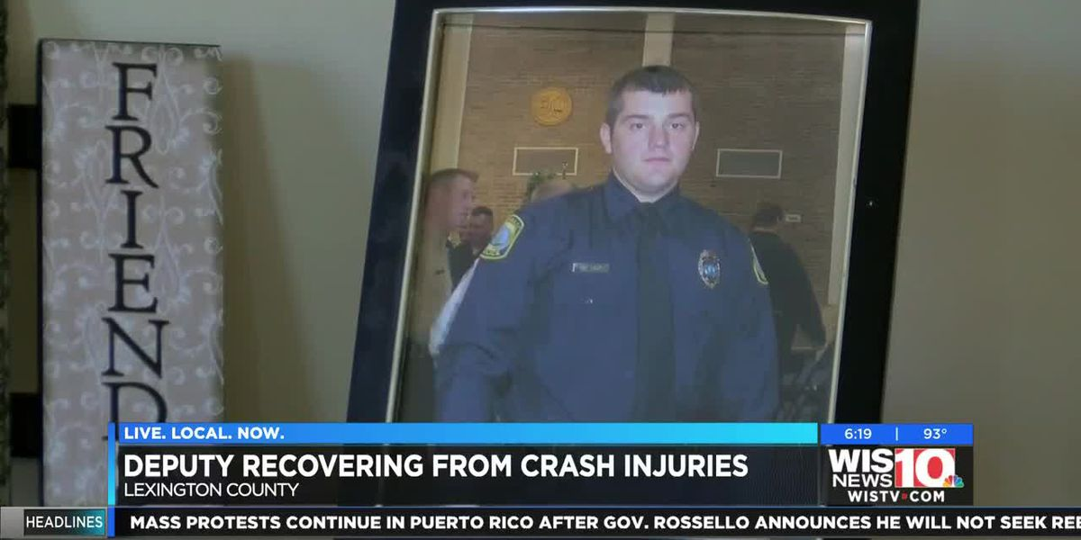 Lexington Deputy hit by drunk driver battling critical injuries