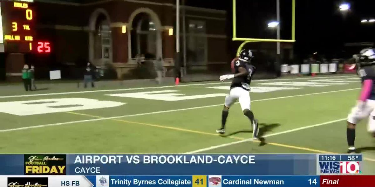 PLAY 1: Brookland-Cayce's Jordan Wise returns the opening kickoff for six