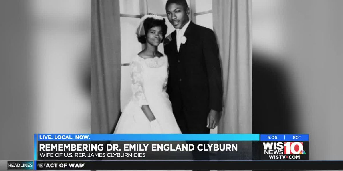 Emily England Clyburn -- librarian, philanthropist and wife of Rep. Jim Clyburn -- dies at age 80